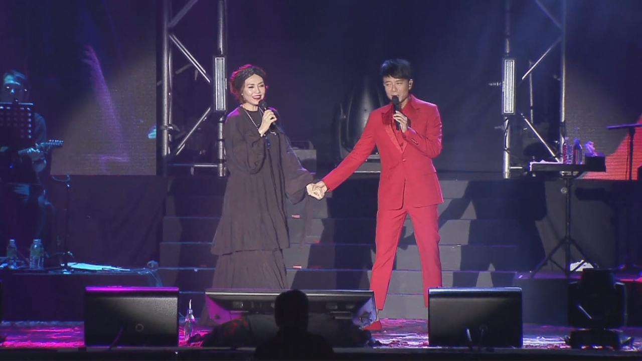 李克勤新加坡舉行個唱 陳潔儀獲邀擔任嘉賓