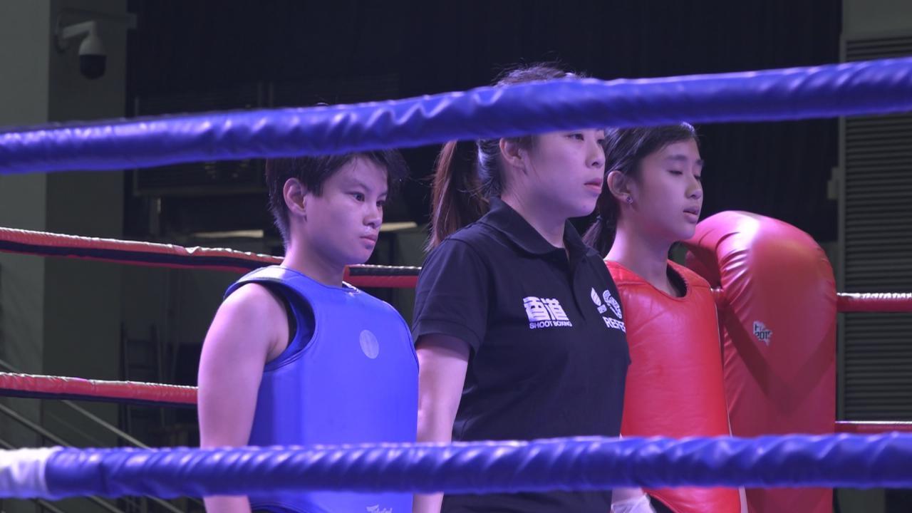 林子博陪仔女參加搏擊比賽 卓楠詠渝稱仍有進步空間