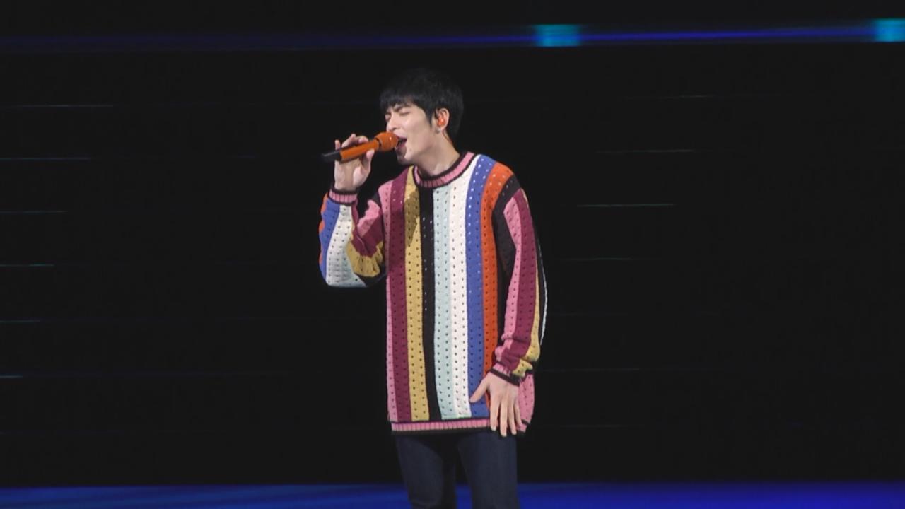 蕭敬騰為運動活動任嘉賓 獻唱經典歌炒熱氣氛