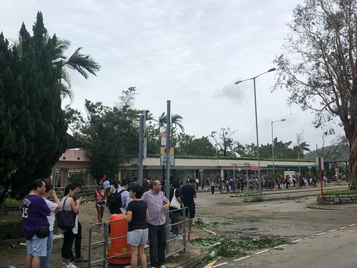 西貢市風後交通情況3