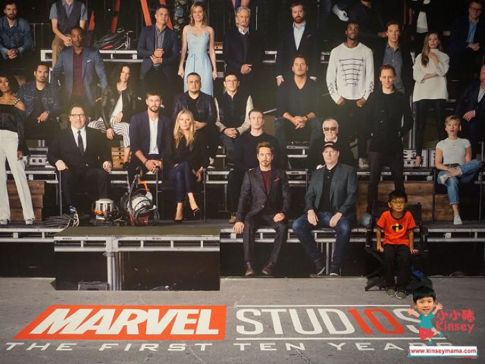 小小豬星馬篇 - Marvel Studios Ten Years of Heroes