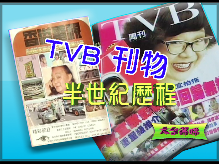 伴港人成長的TVB刊物