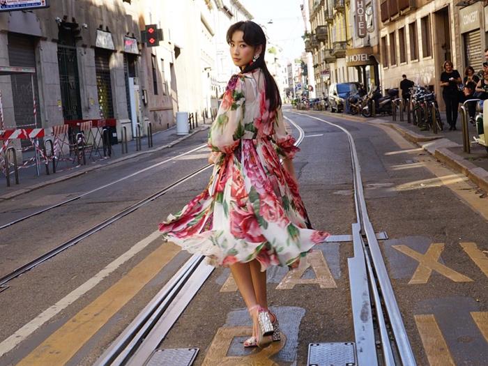 我的化妝工作~在米蘭時裝週 2019SS 上為龔慈恩女兒林愷鈴化妝~