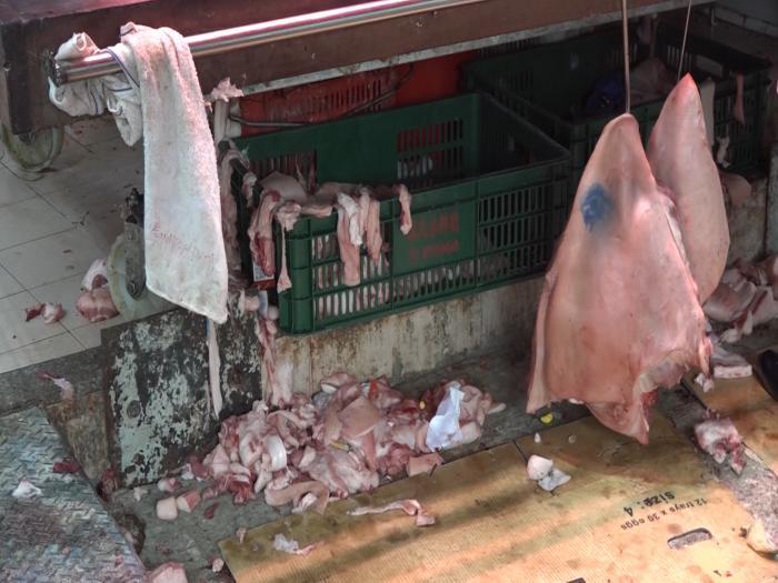 棄置豬肉執嚟食