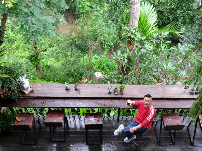 冲遊泰國4.1 清邁森林中的一間咖啡店