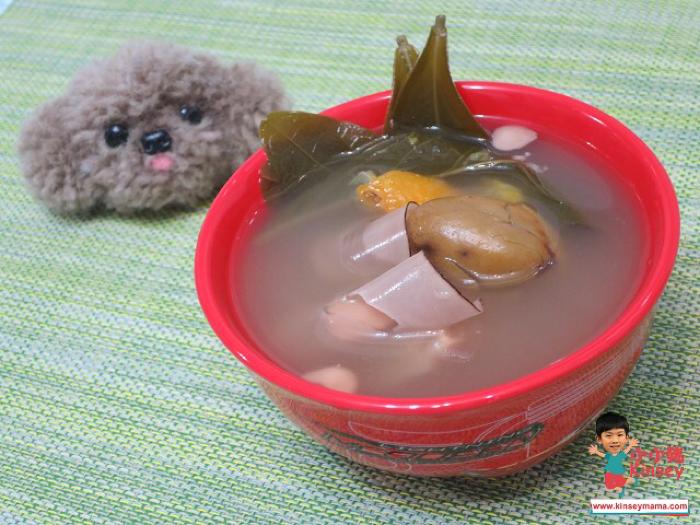 小小豬湯水篇 - 龍脷葉桔餅青欖瘦肉湯