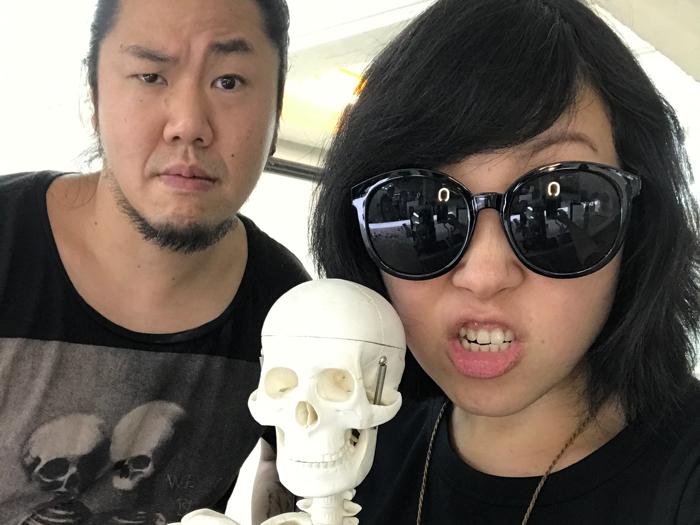 蝦頭x特技化妝師示範專業級萬聖節妝
