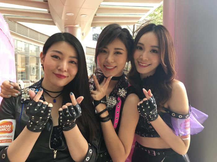 Godlike Girls Bandai 遊戲嘉年華
