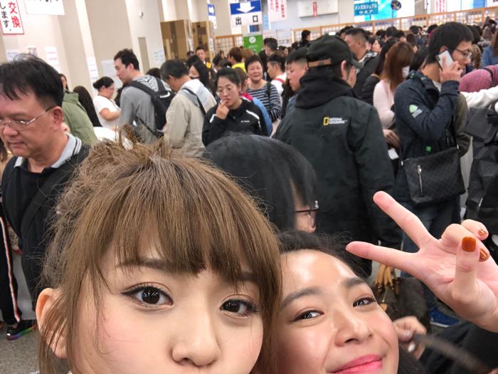 林穎彤在東京二手拍賣場