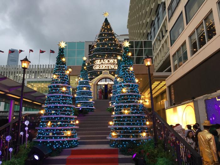 鍾楚紅聖誕亮燈