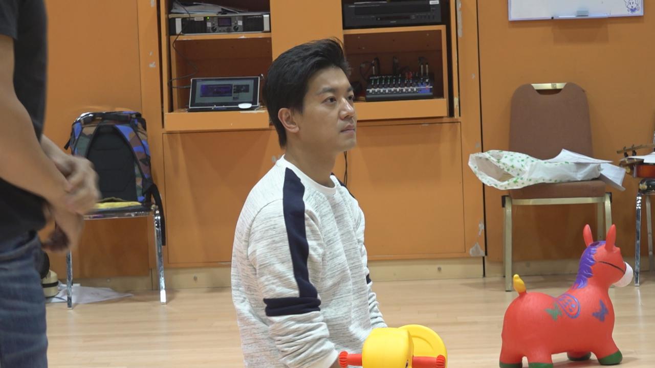 BB來了演員為台慶節目綵排 諾懿預告表演有爆破元素
