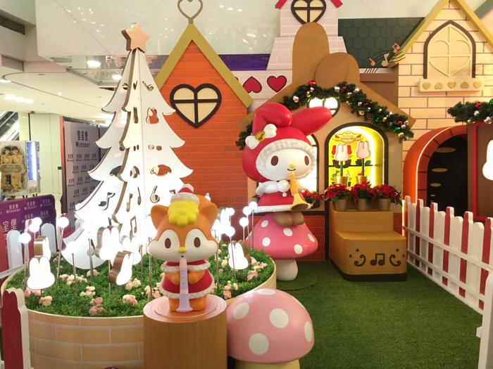 阿嬌為聖誕活動揭幕
