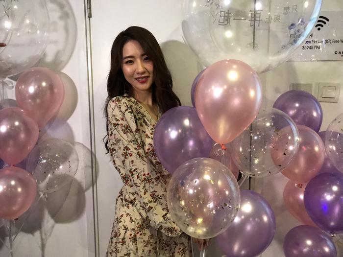 粉絲點樣同Hana慶祝生日
