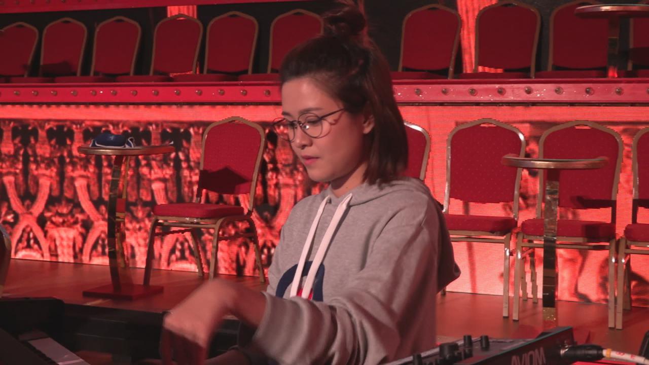 重拾樂器媽媽深感欣慰 江嘉敏入行前當鋼琴老師