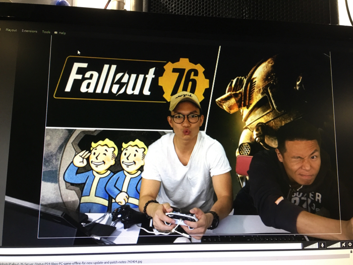 翟威廉@ 11-20-2018 後生仔打吓機 之 XBOX 日 Fallout 76