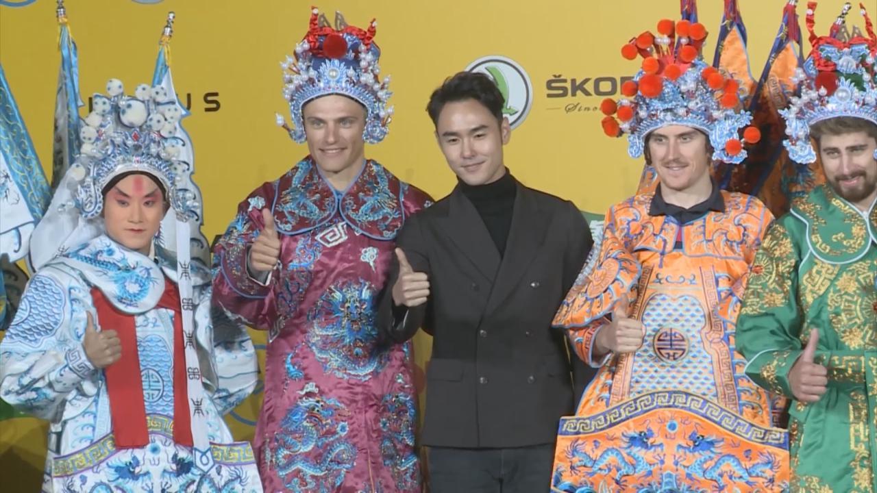 (國語)擔任國際單車比賽大使 阮經天向參賽者推廣中華文化