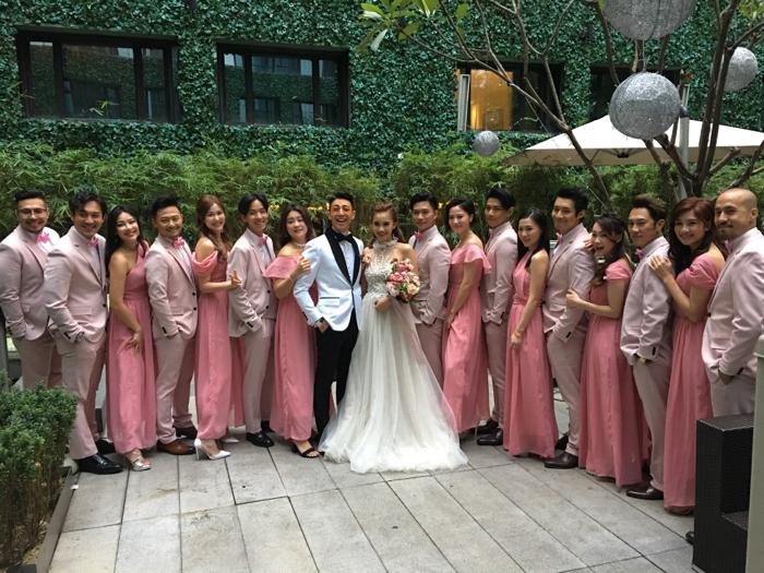 林師傑 & 歐陽巧瑩 大婚 一對新人接受訪問