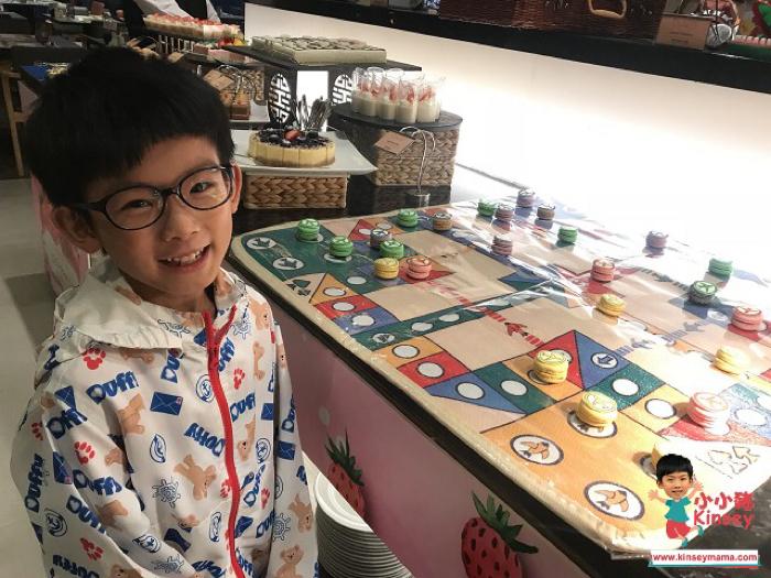 小小豬玩樂篇 - 棋趣大笪地BUFFET@港島太平洋酒店
