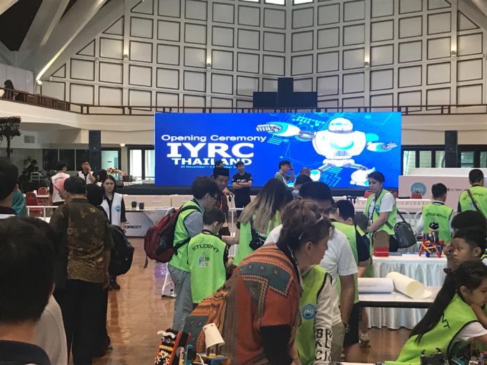 國際青少年機械人大賽2018@泰國#1