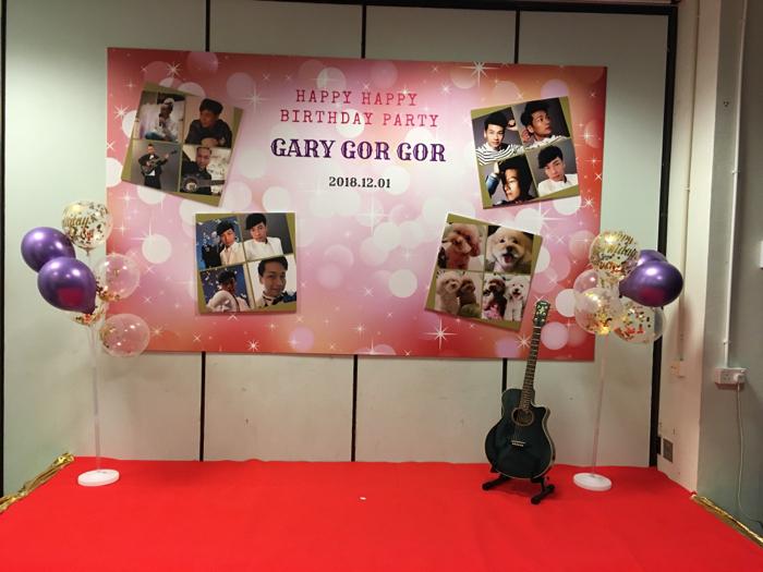 GaryGorGor Happy Birthday Party
