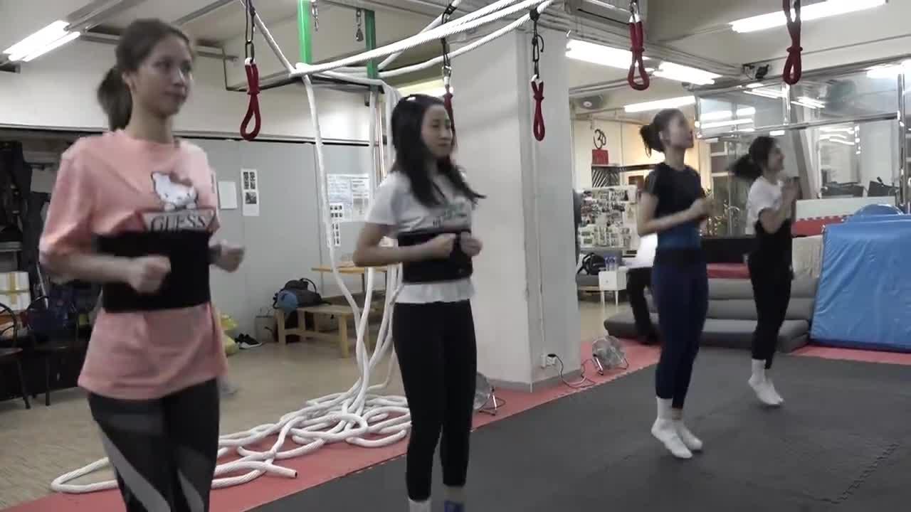 盼盼姐x港姐高難度訓練