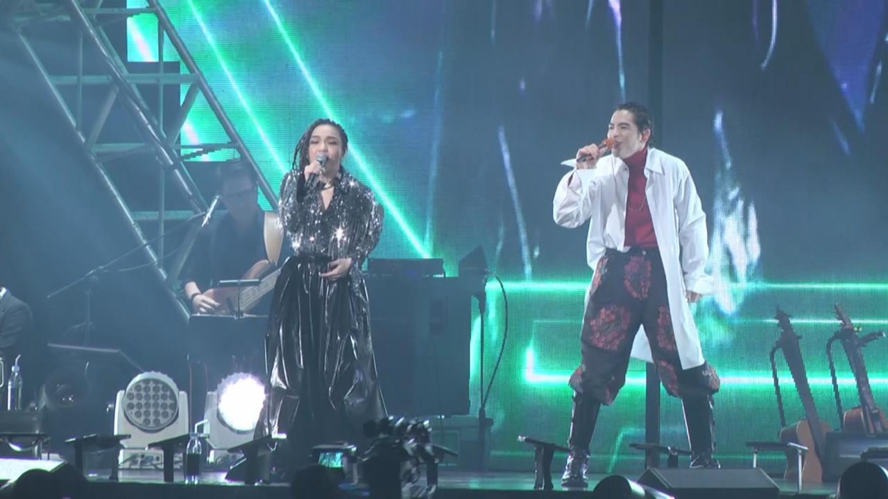 蕭敬騰擔任個唱尾場嘉賓 徐佳瑩與老蕭激情合唱