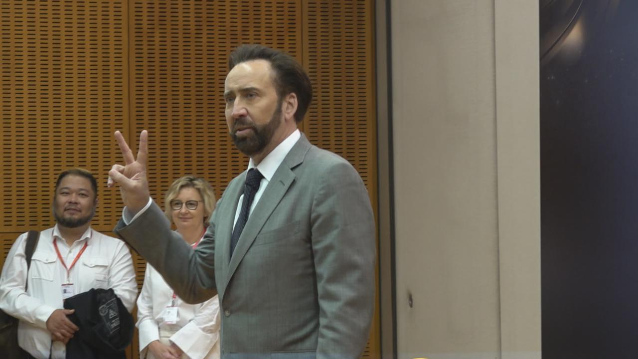 NicolasCage任澳門國際影展明星大使 分享與吳宇森拍攝難忘經歷