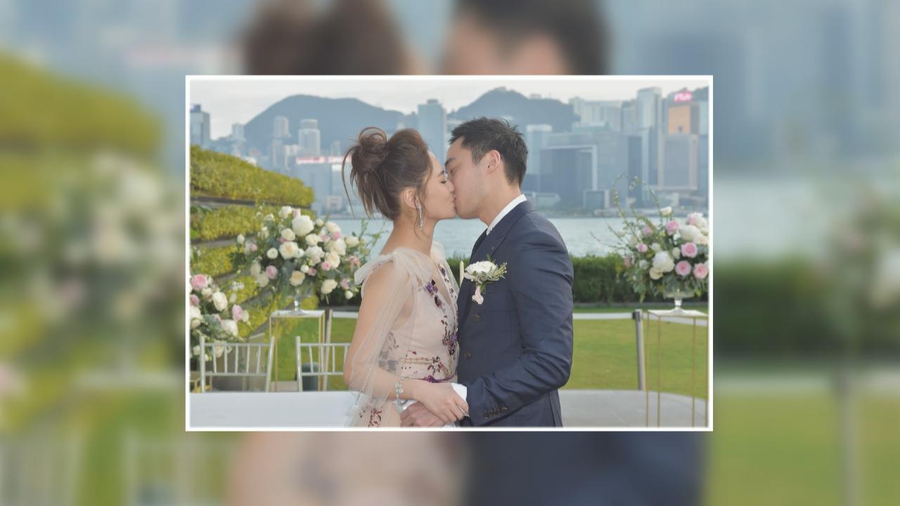 與賴弘國香港註冊結婚 鍾欣潼獲奶奶大讚好新抱
