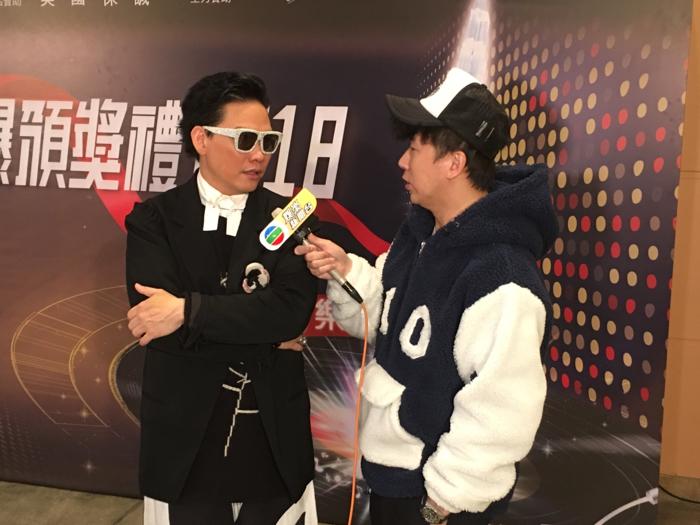 新城頒獎禮表演嘉賓蘇永康訪問