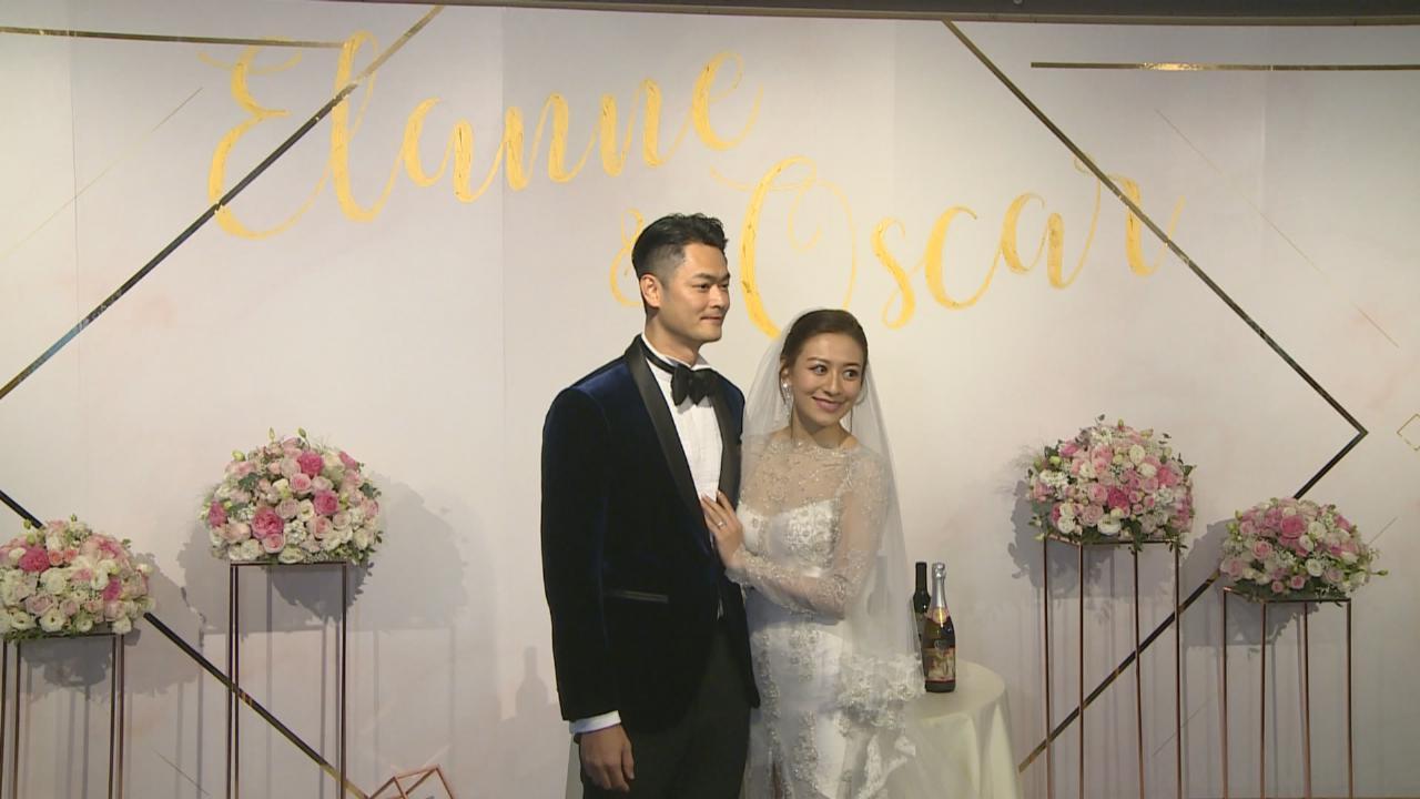 (國語)江若琳蕭潤邦正式結為夫婦 新娘子全程感動大哭
