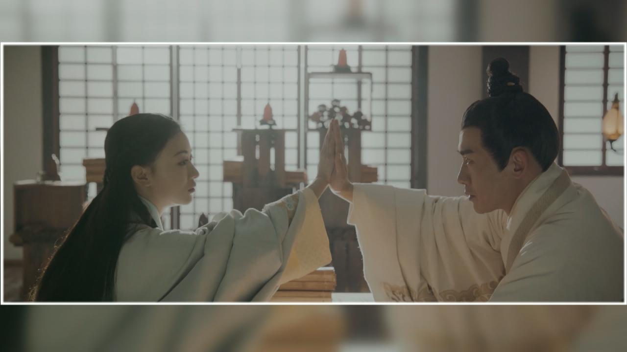皓鑭傳將於二月四號TVB播映 吳謹言聶遠再續前緣