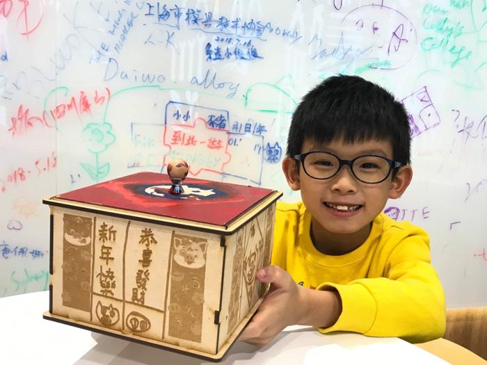 小小豬玩樂篇 - DIY 鐳射切割賀年糖果盒