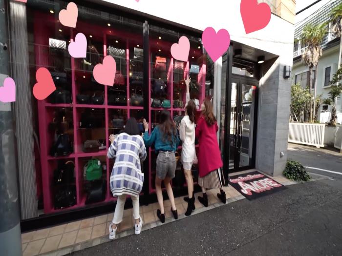 東京澀谷 二手名牌店