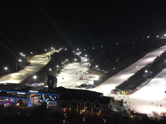 林子博@首爾大明滑雪渡假村(雪場景)2
