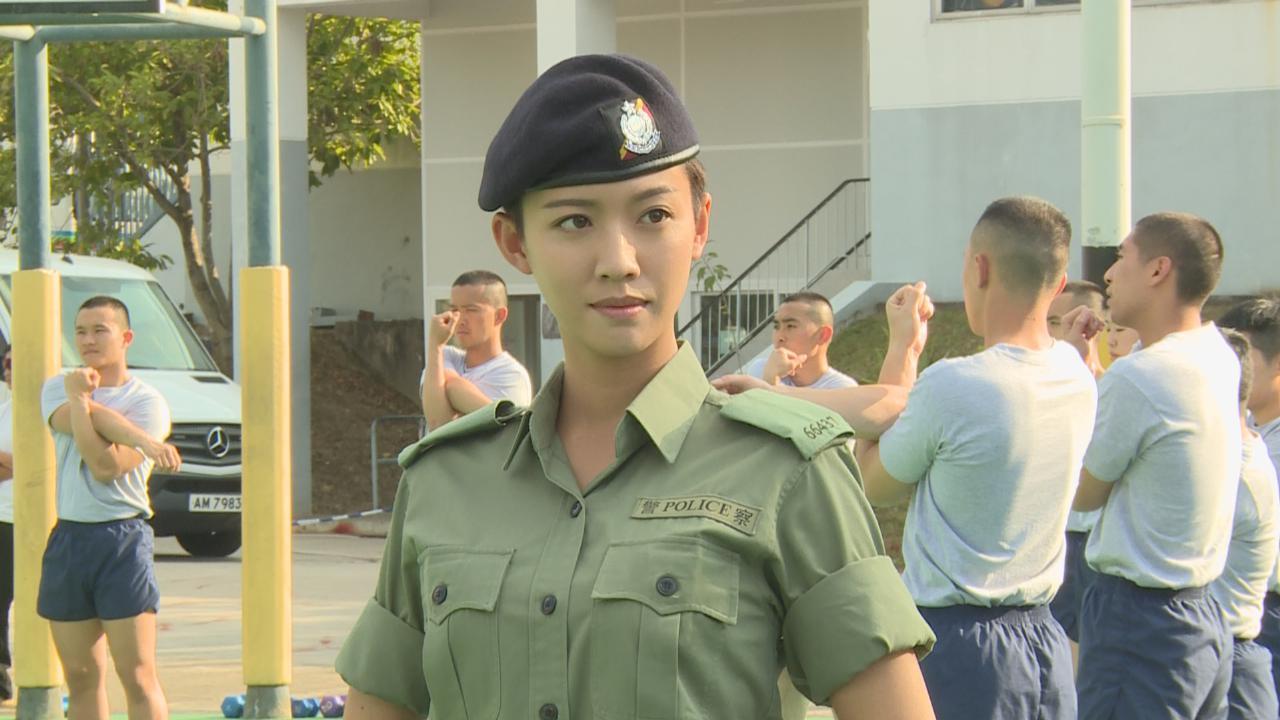 化身機動部隊拍攝電視電影 楊明Sisley親身體驗胡椒噴霧