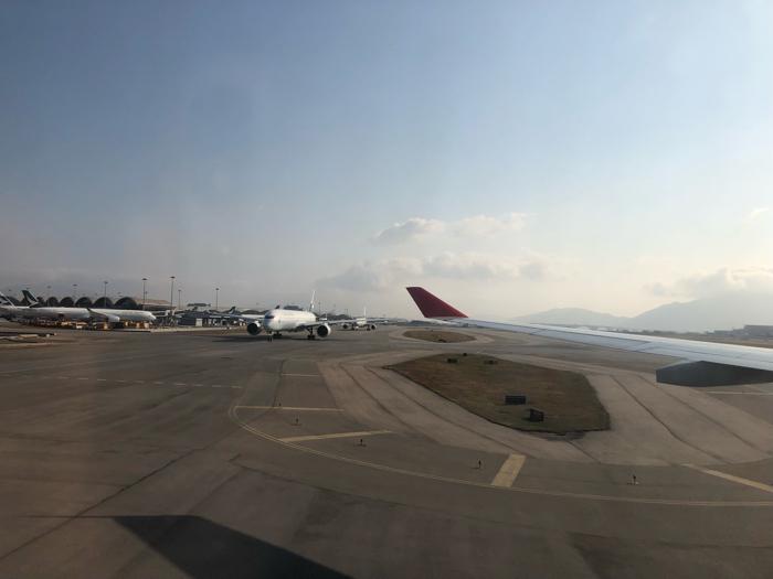 香港轉機🇭🇰