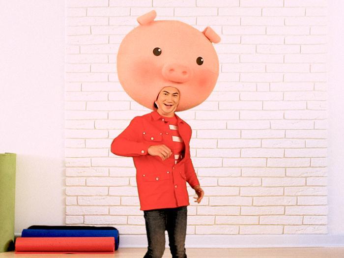 新春豬事丁:豬頭健身教室