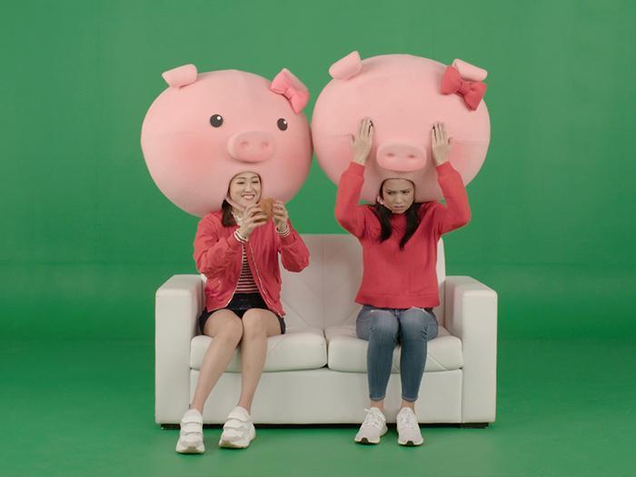 新春豬事丁:三隻小豬食乜嘢?