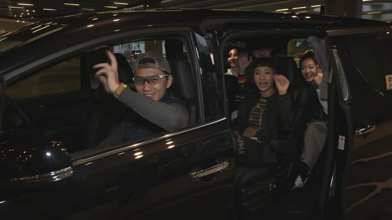 眾藝人珠海參與慈善賽車 Ben黃致豪讚潘盈慧大膽
