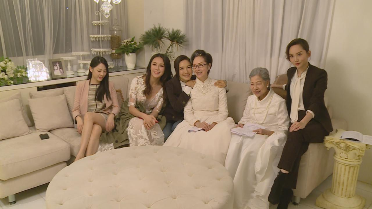 (國語)羅蘭謝雪心穿婚紗破格演出 兩人大感不習慣