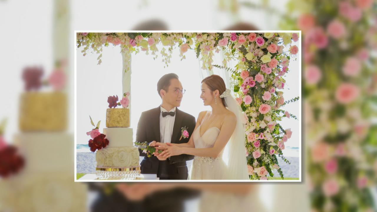 沈卓盈上月秘密泰國舉行婚禮 徐淑敏陳自瑤擔任姊妹團