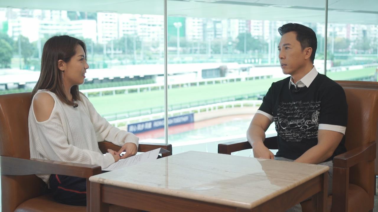 甄子丹連任七年打吡大使 感演員與騎師理念一致