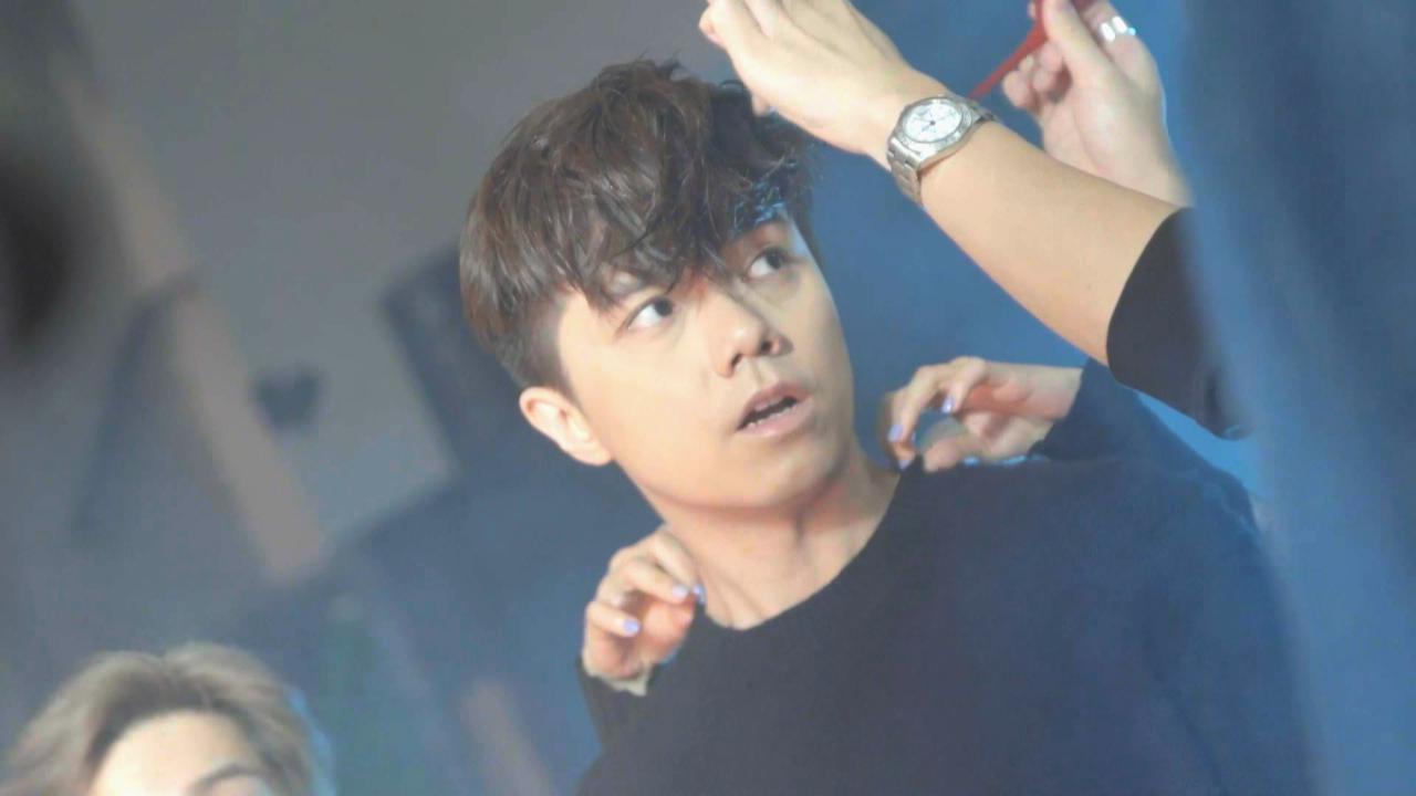 張敬軒拍攝新歌MV 喜與新導演ShengWong合作