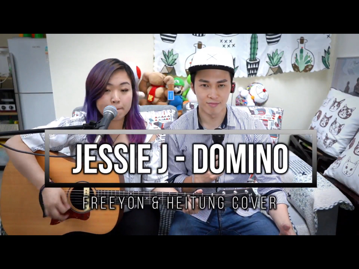 Jessie J - Domino (浠彤Heitung and Freeyon Chung鍾君揚 cover)