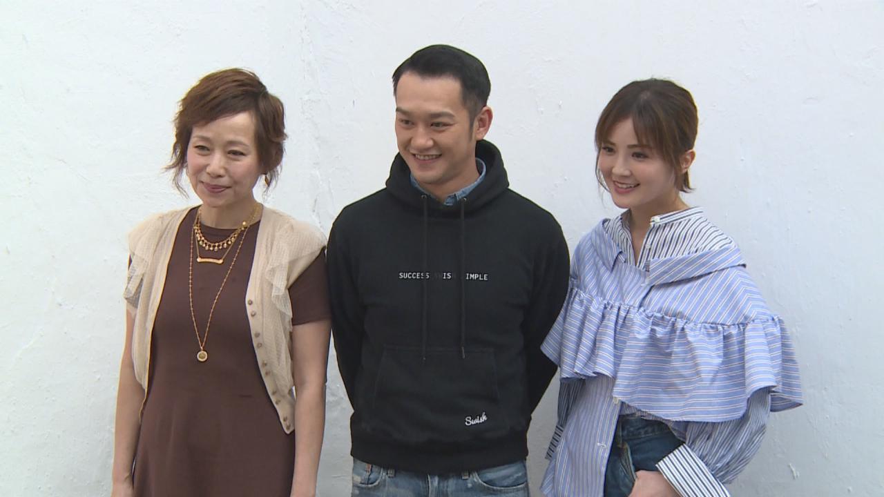 與蔡卓妍拍親熱戲份 吳浩康坦言緊張流汗