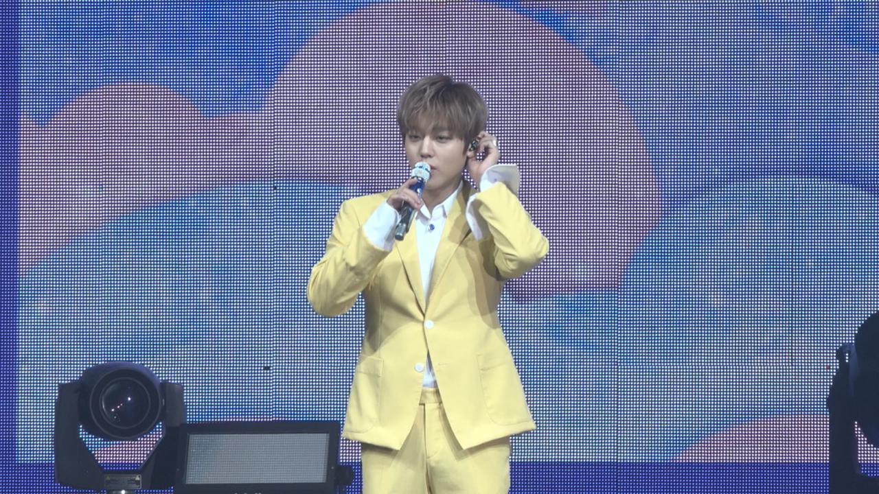 (國語)朴志訓訪港舉行粉絲見面會 性感熱舞炒熱全場氣氛