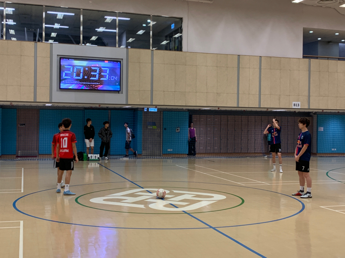 inter-hall足球比賽 (有danny喺到)
