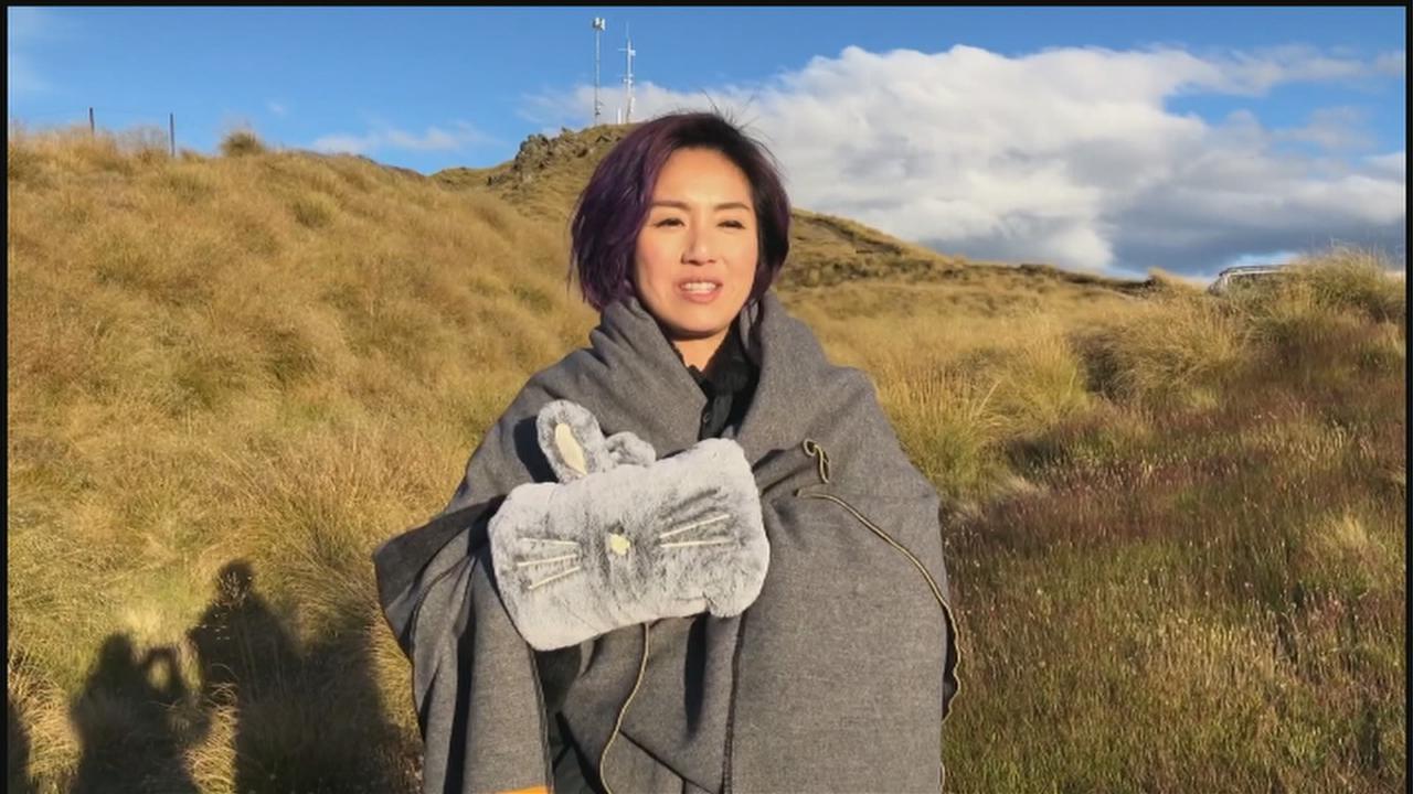 赴新西蘭捱冷拍攝致哮喘病發 楊千嬅為巡演搏到盡
