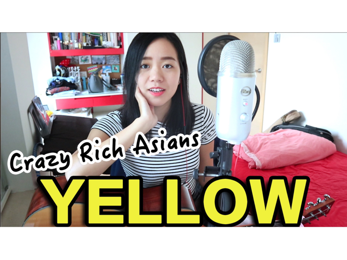 JESSICA LAW COVER | YELLOW (Crazy Rich Asians)