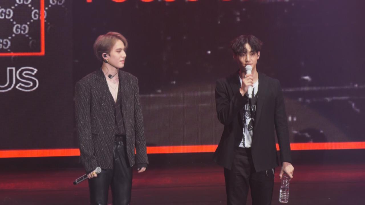 Jus2亞洲巡迴showcase台北站 二人展現獨有魅力